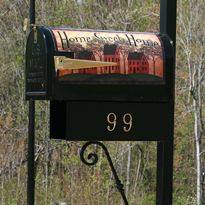 cool residential mailboxes. Carriage Grove 1 Square Cool Residential Mailboxes